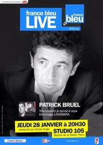 Patrick Bruel France Bleu