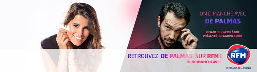 Karine Ferri De Palmas RFM JustMusic.fr