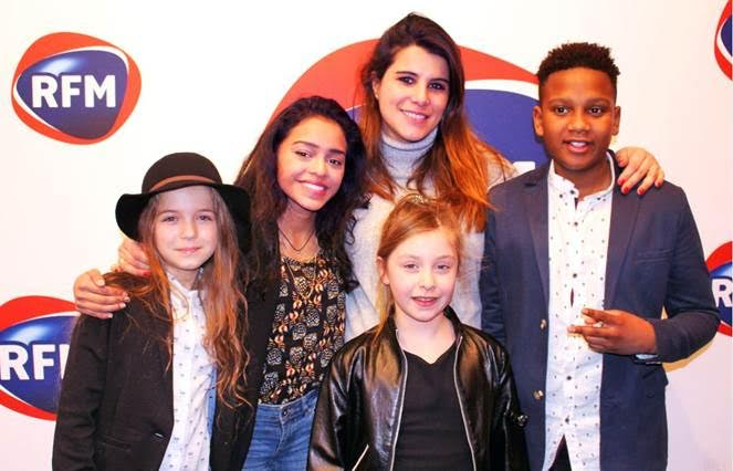 Karine Ferri Kids United JustMusic.fr