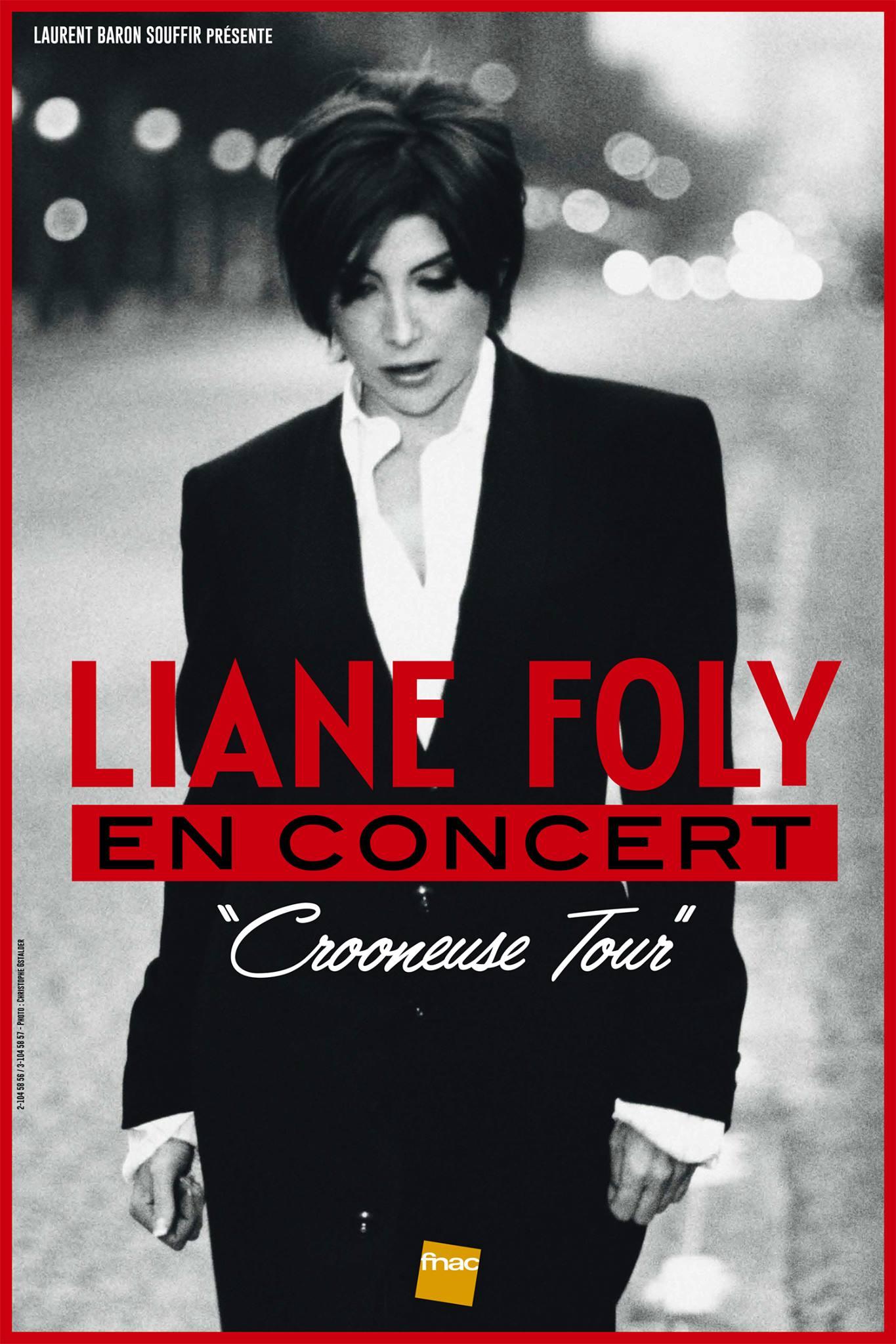 Liane Foly - Crooneuse Tour (Visuel BD)