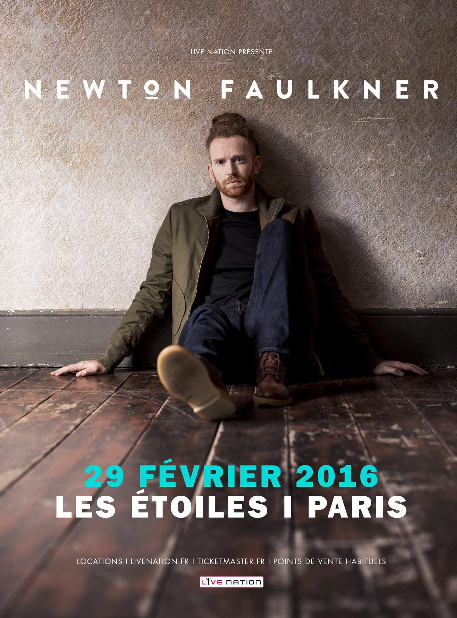 Newton Faulkner Live JustMusic.fr
