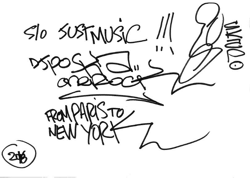 DJ Poska Dédicace JustMusic.fr