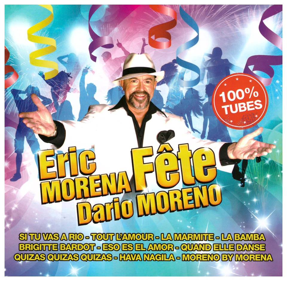 Eric Morena fête Dario Moreno - Cover JustMusic.fr