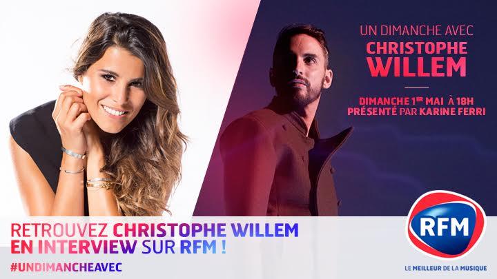 Karine Ferri Christophe Willem RFM JustMusic.fr
