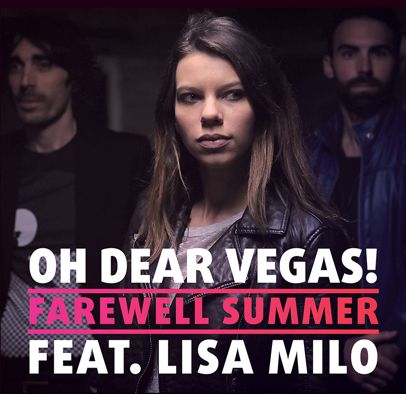 Oh-Dear-Vegas!-feat.-Lisa-Milo---Farewell-Summer-(Cover-Single-BD)