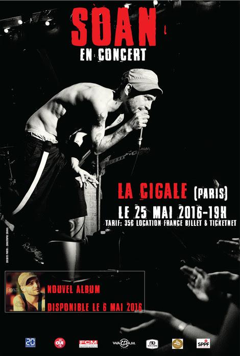 Soan concert JustMusic.fr