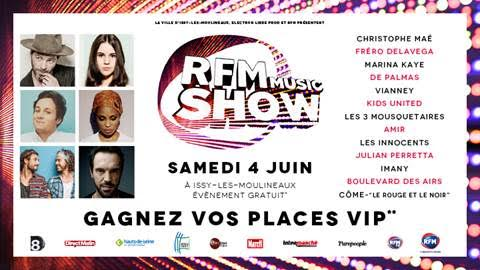 RFM Music Show JustMusic.fr