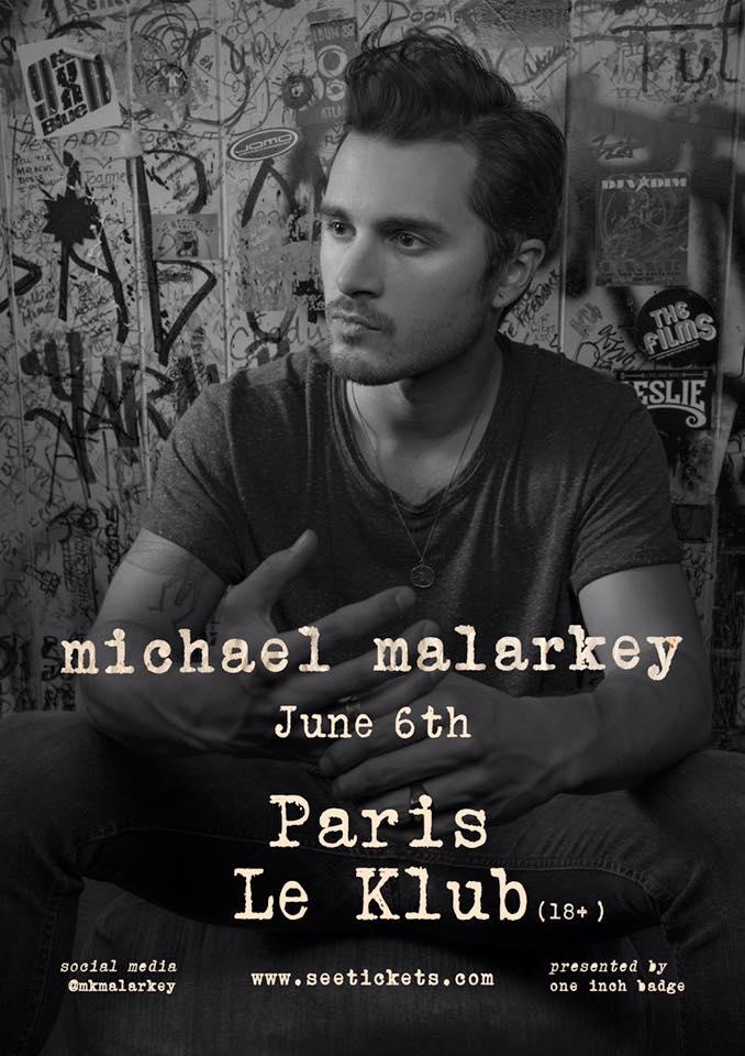 Michael Malarkey JustMusic.fr