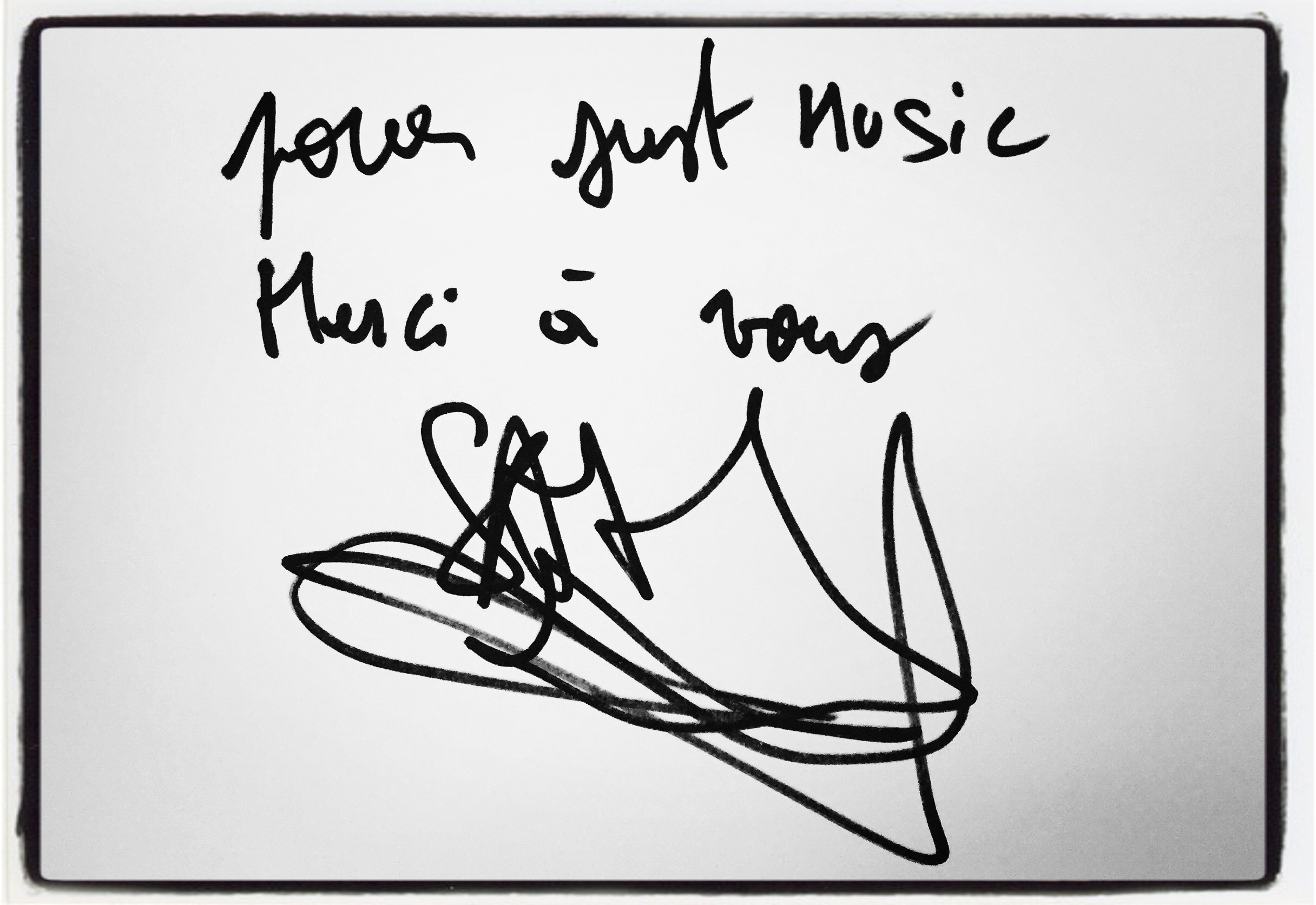 Sam Mayer JustMusic.fr Dédicace