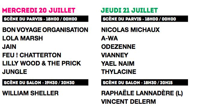 Festival Fnac Live 1 JustMusic.fr