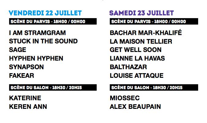 Festival Fnac Live 2 justMusic.fr