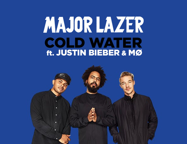 Major Lazer - Cold Water (feat. Justin Bieber & MØ) JustMusic.fr