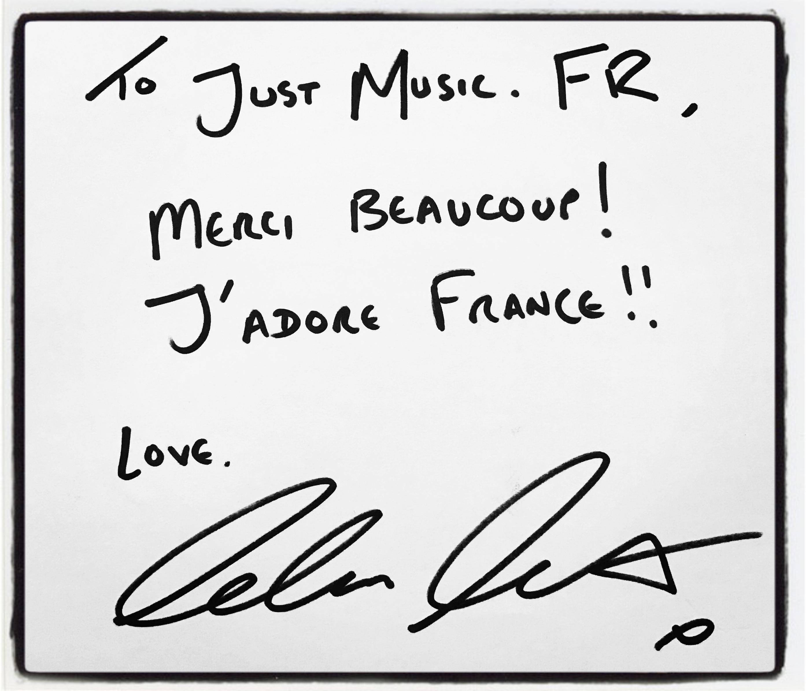 Calum Scott Dédicace JustMusic.fr