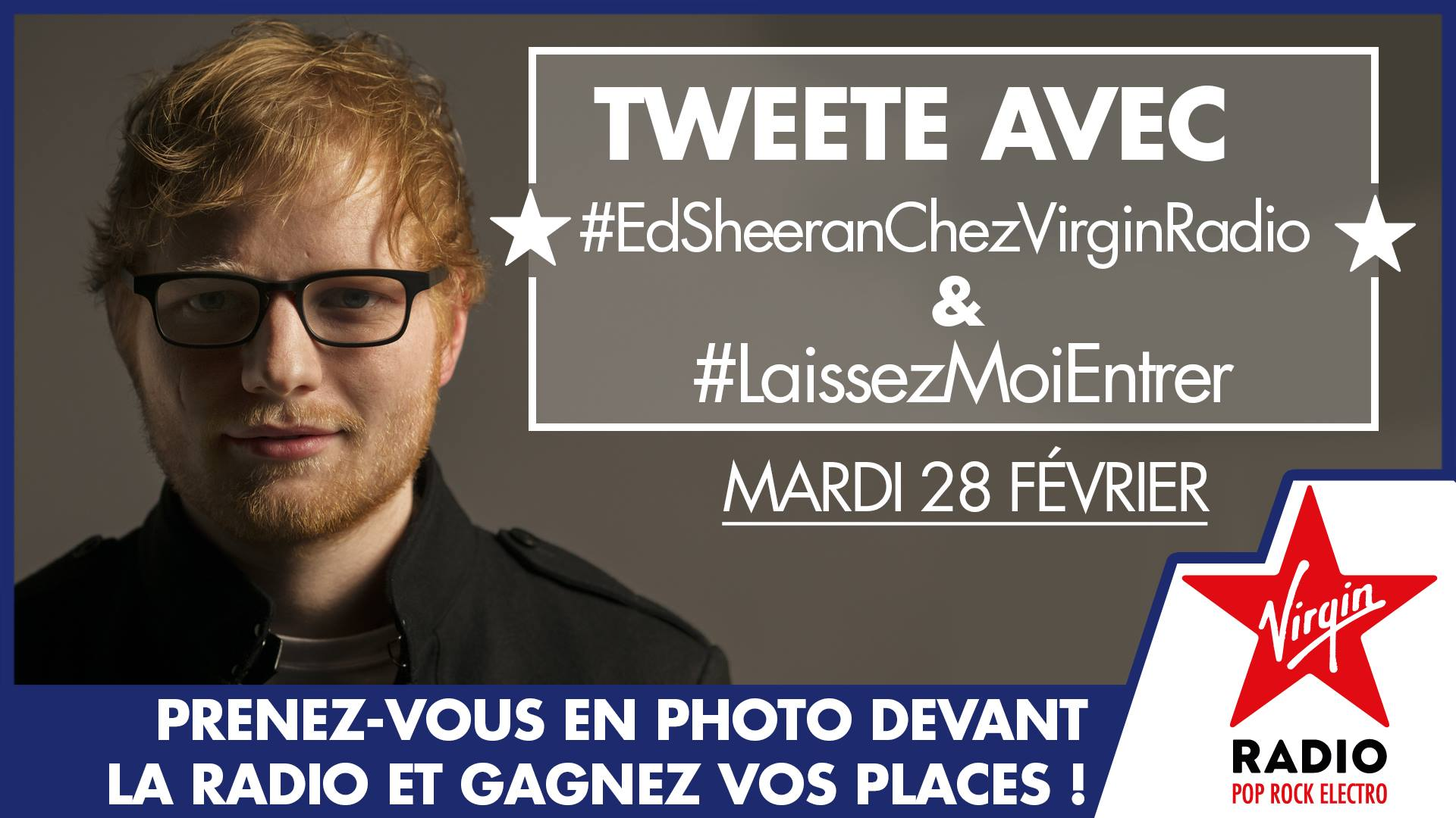 Ed Sheeran Virgin Radio JustMusic.fr