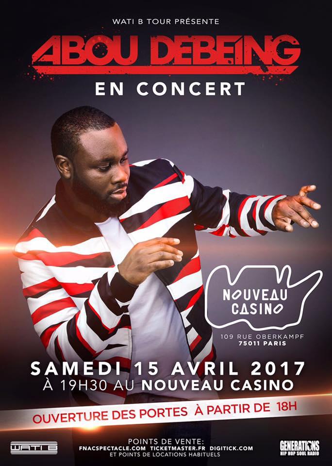 Abou Debeing Casino de Paris JustMusic.fr
