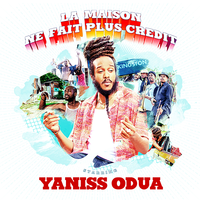COVER SINGLE YANISS ODUA - LA MAISON NE FAIT PLUS CREDIT - BD JustMusic.fr