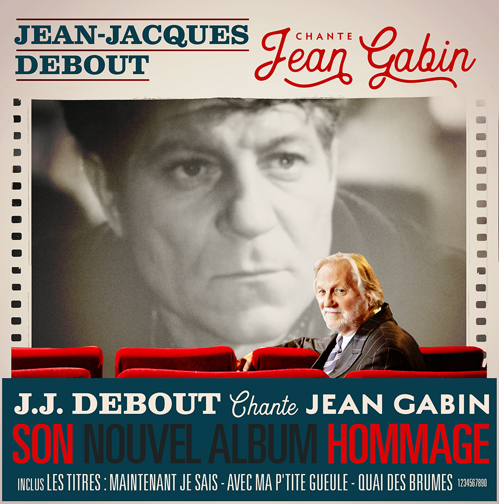 Jean-Jacques Debout Chante Jean Gabin (Cover Album BD) JustMusic.fr