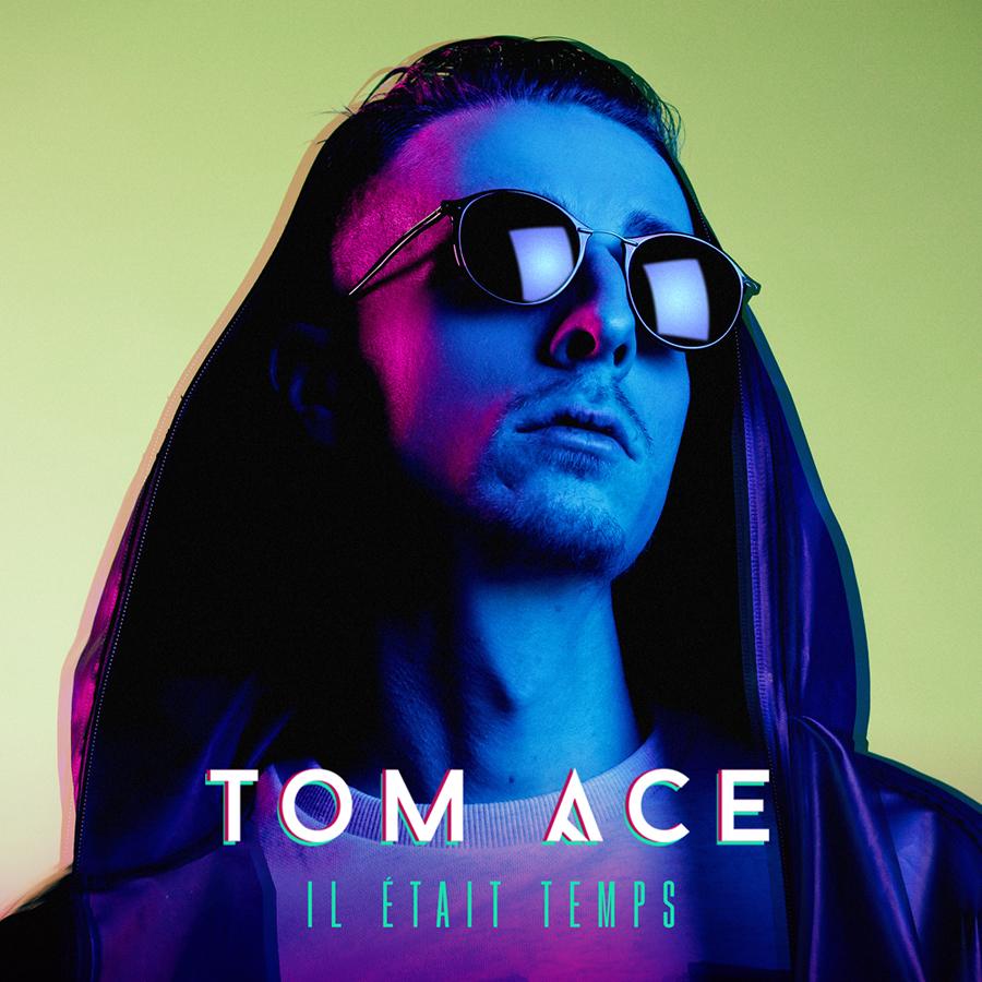 cover single - Tom Ace - Il était temps - BD JustMusic.fr