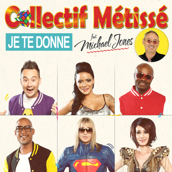 Collectif Métissé cover_CM_Je te donne_600 JustMusic.fr