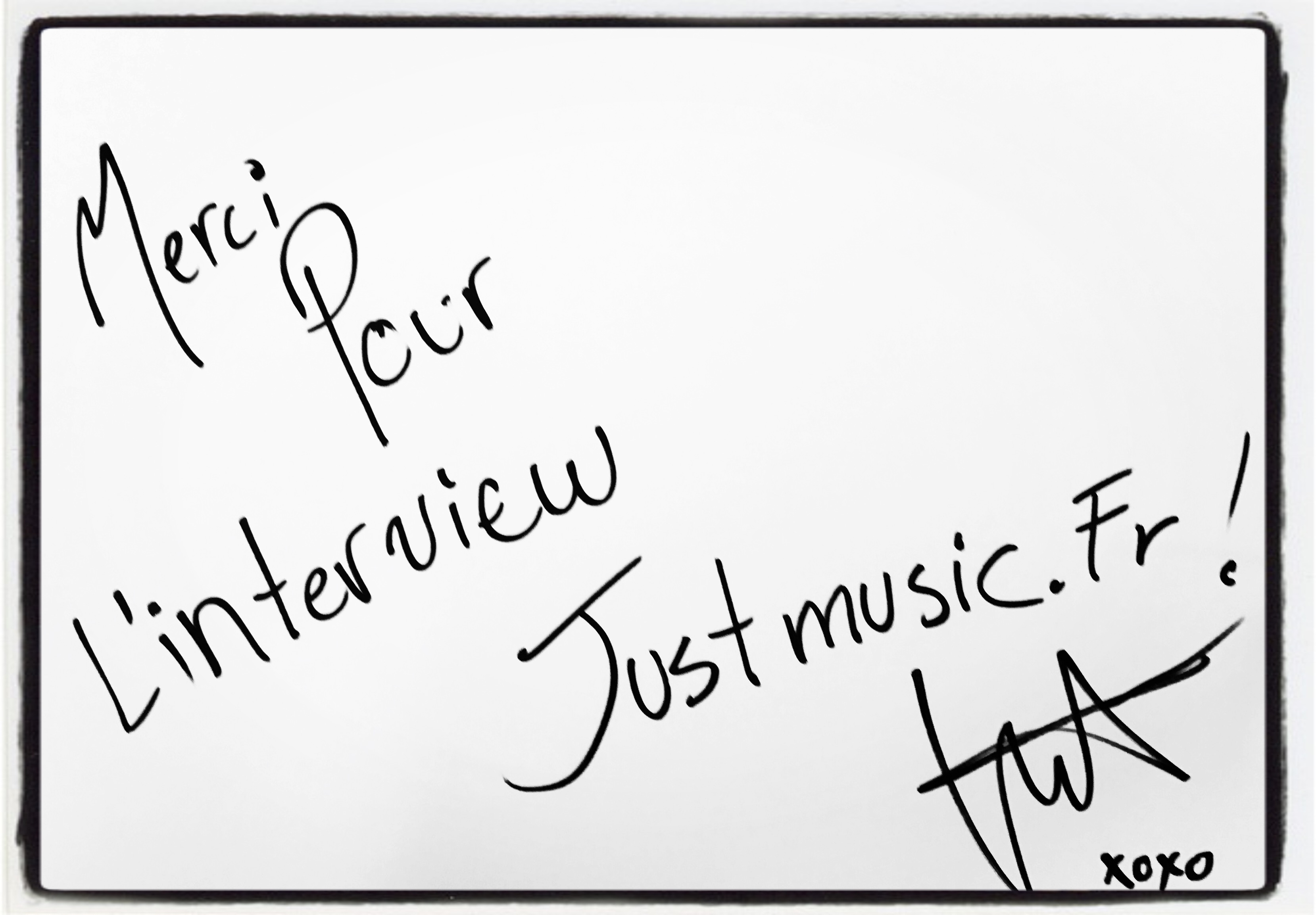 Lenni-Kim Dédicace JustMusic.fr.