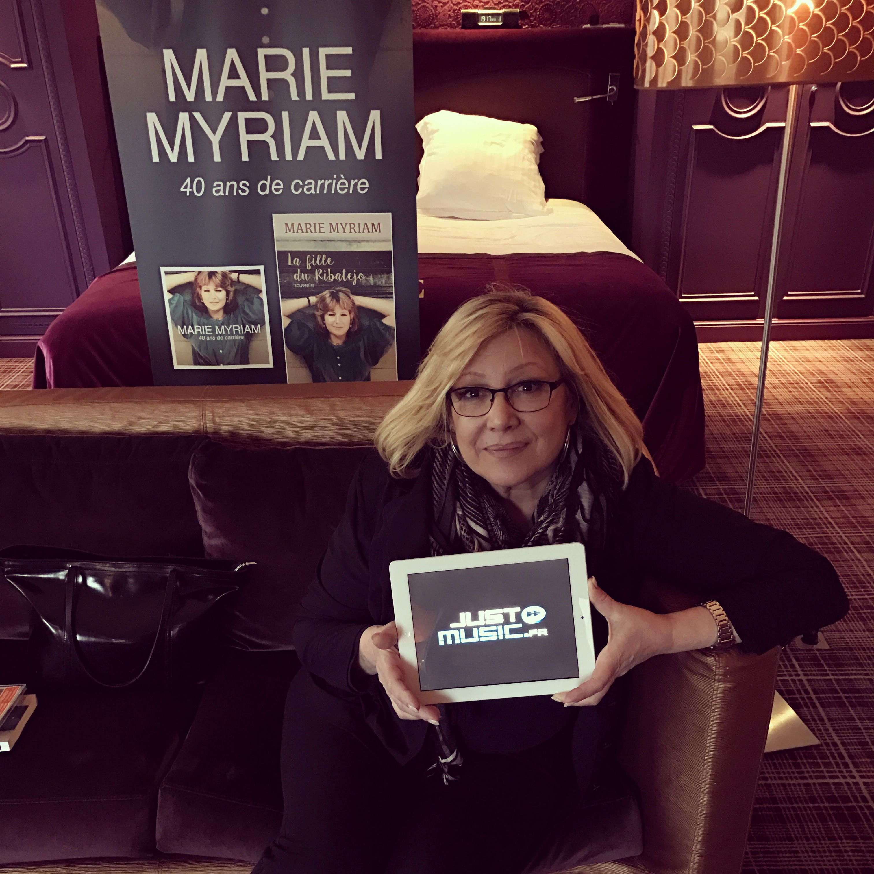 Marie Myriam JustMusic.fr Interview