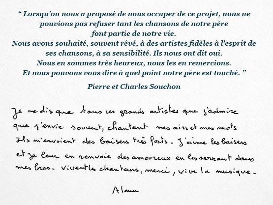 Souchon dans l'air JustMusic.fr