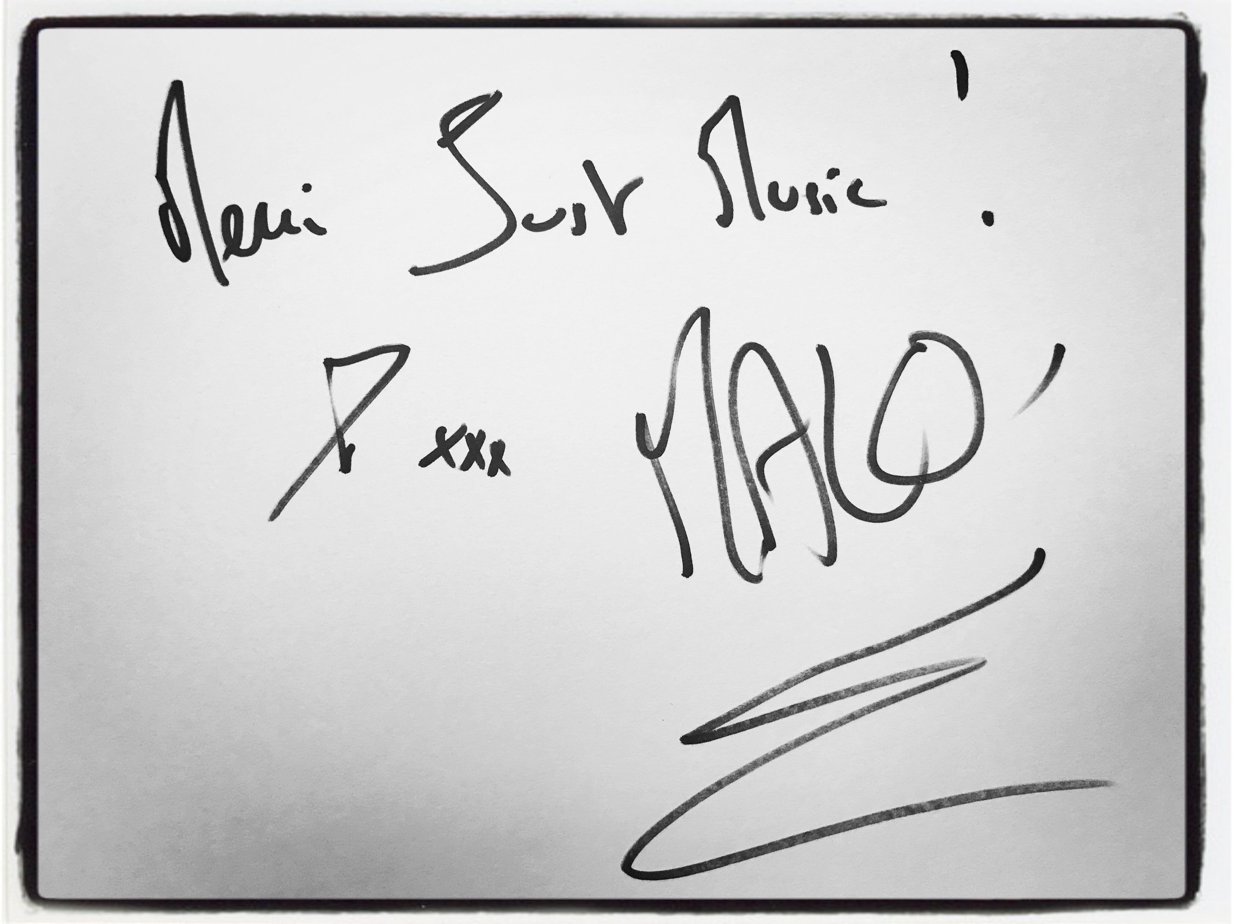 Malo' Dédicace JustMusic.fr