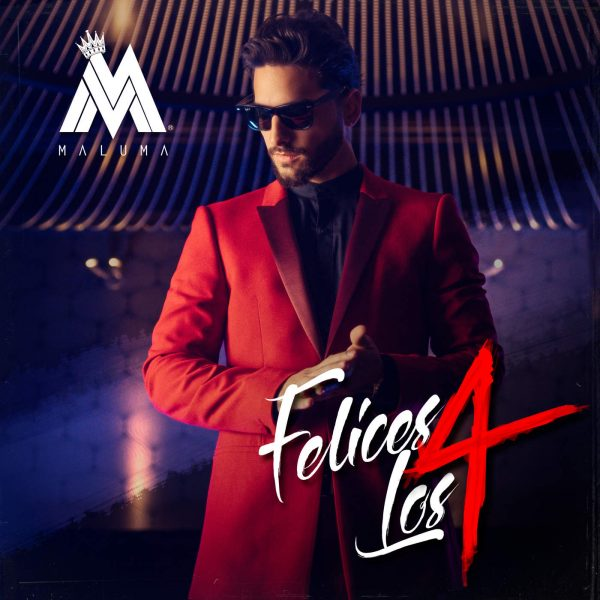 Maluma - Felices Los 4 JustMusic.fr (Cover Single BD)