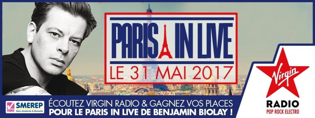Paris in Live JustMusic.fr Benjamin Biolay