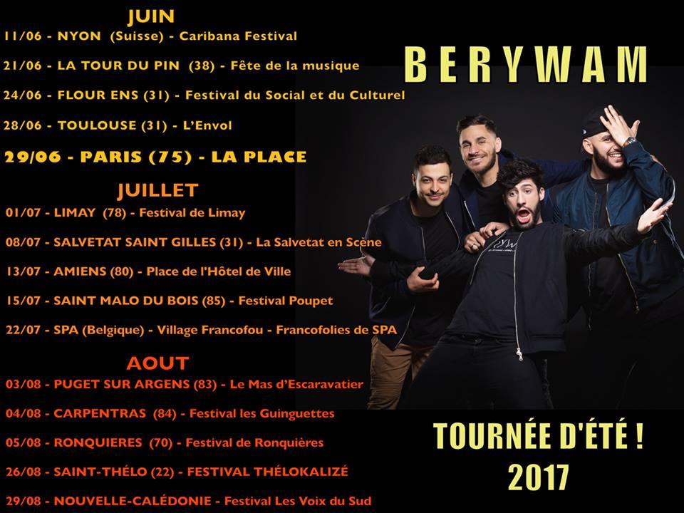 Berywam Live JustMusic.fr