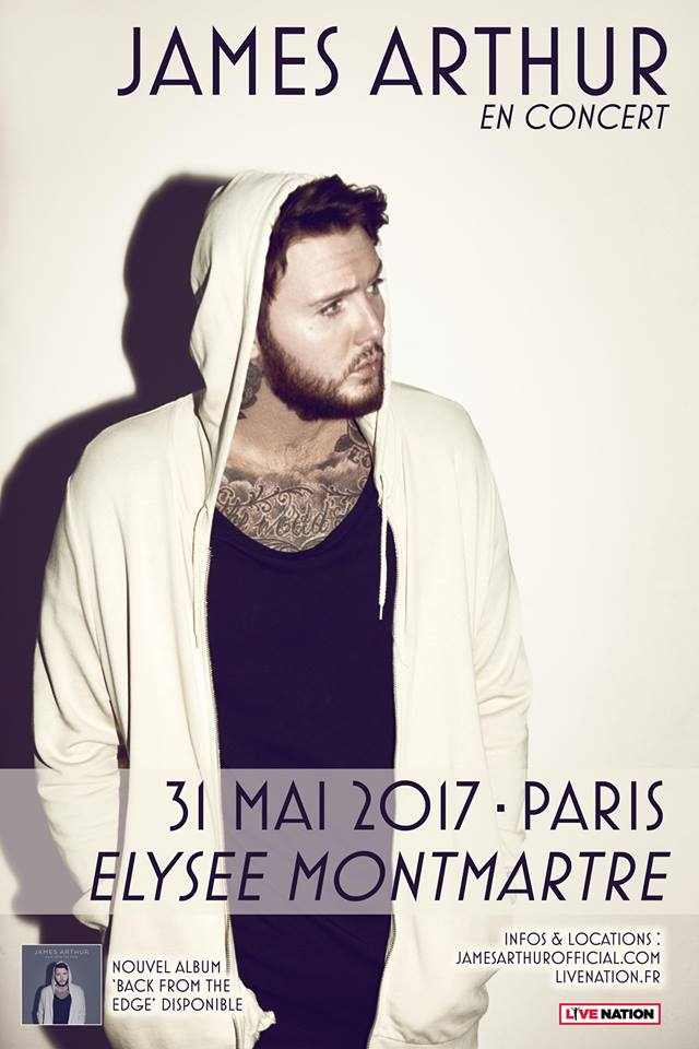 James Arthur JustMusic.fr