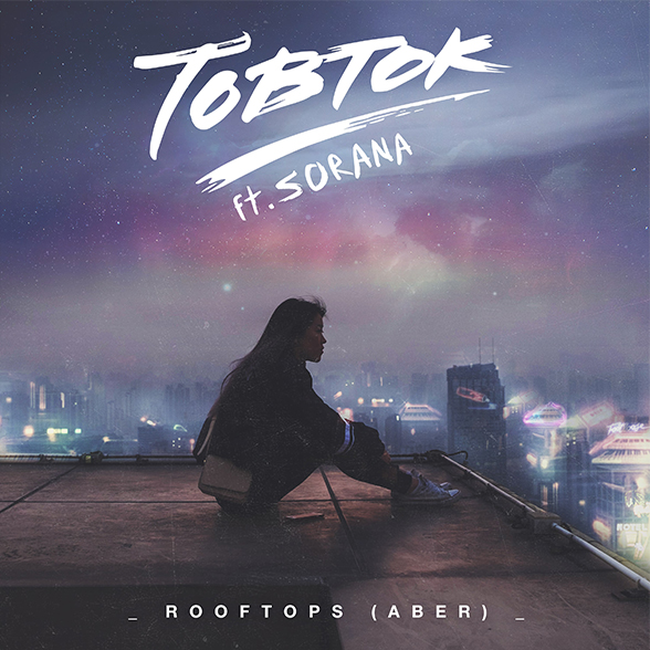 TOBTOK Cover Single Rooftops JustMusic.fr