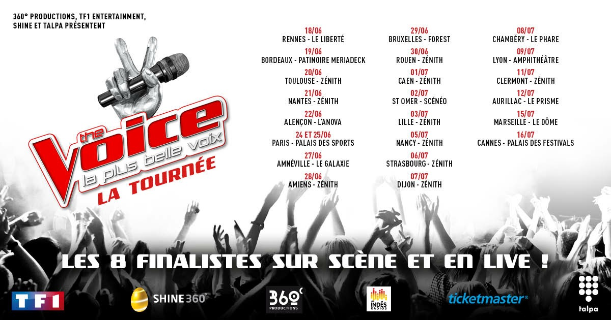 The Voice Tour JustMusic.fr