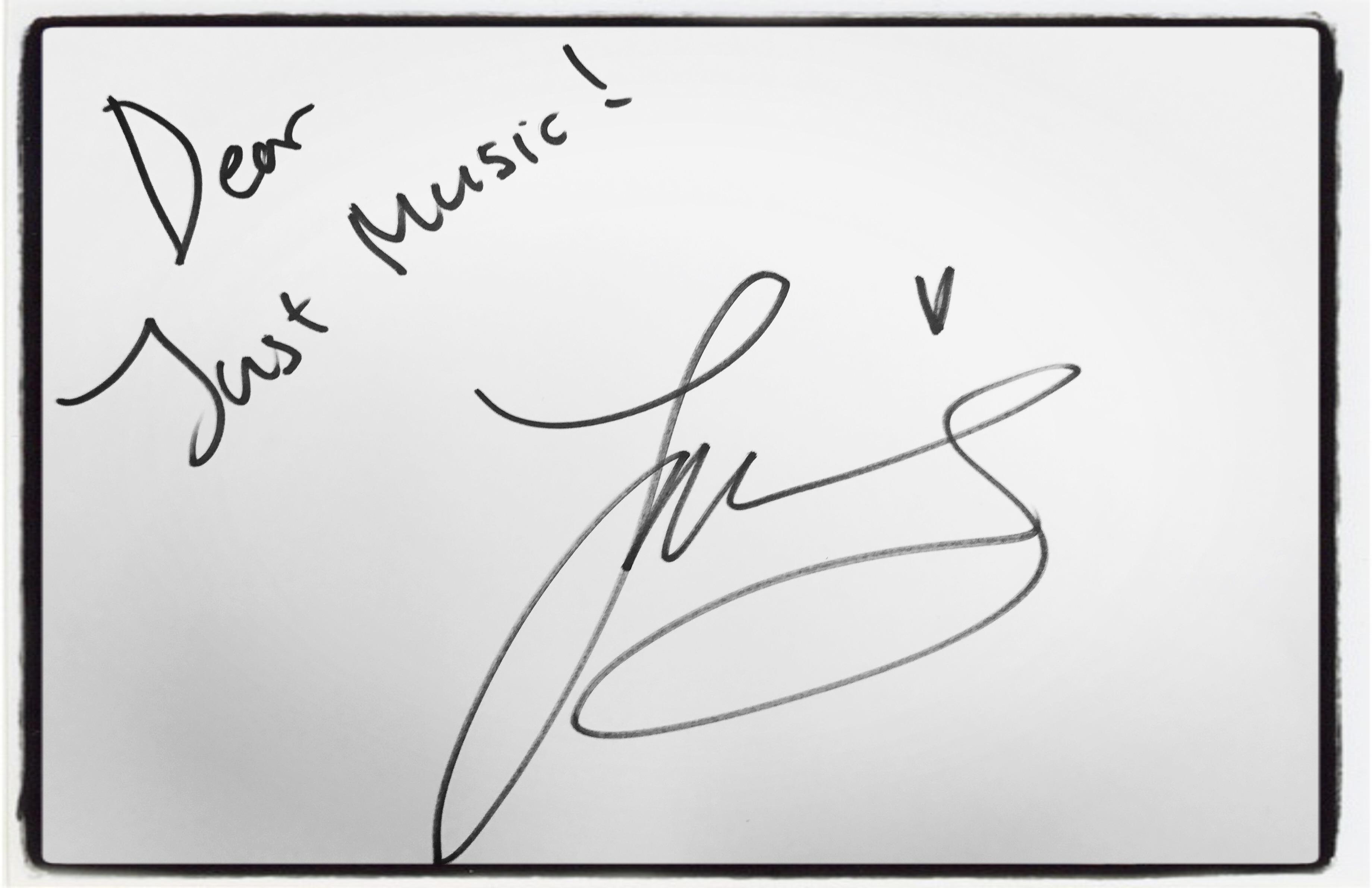 Zara Larsson Dédicace JustMusic.fr