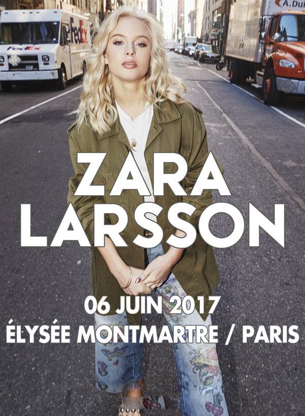 Zara Larsson JustMusic.fr