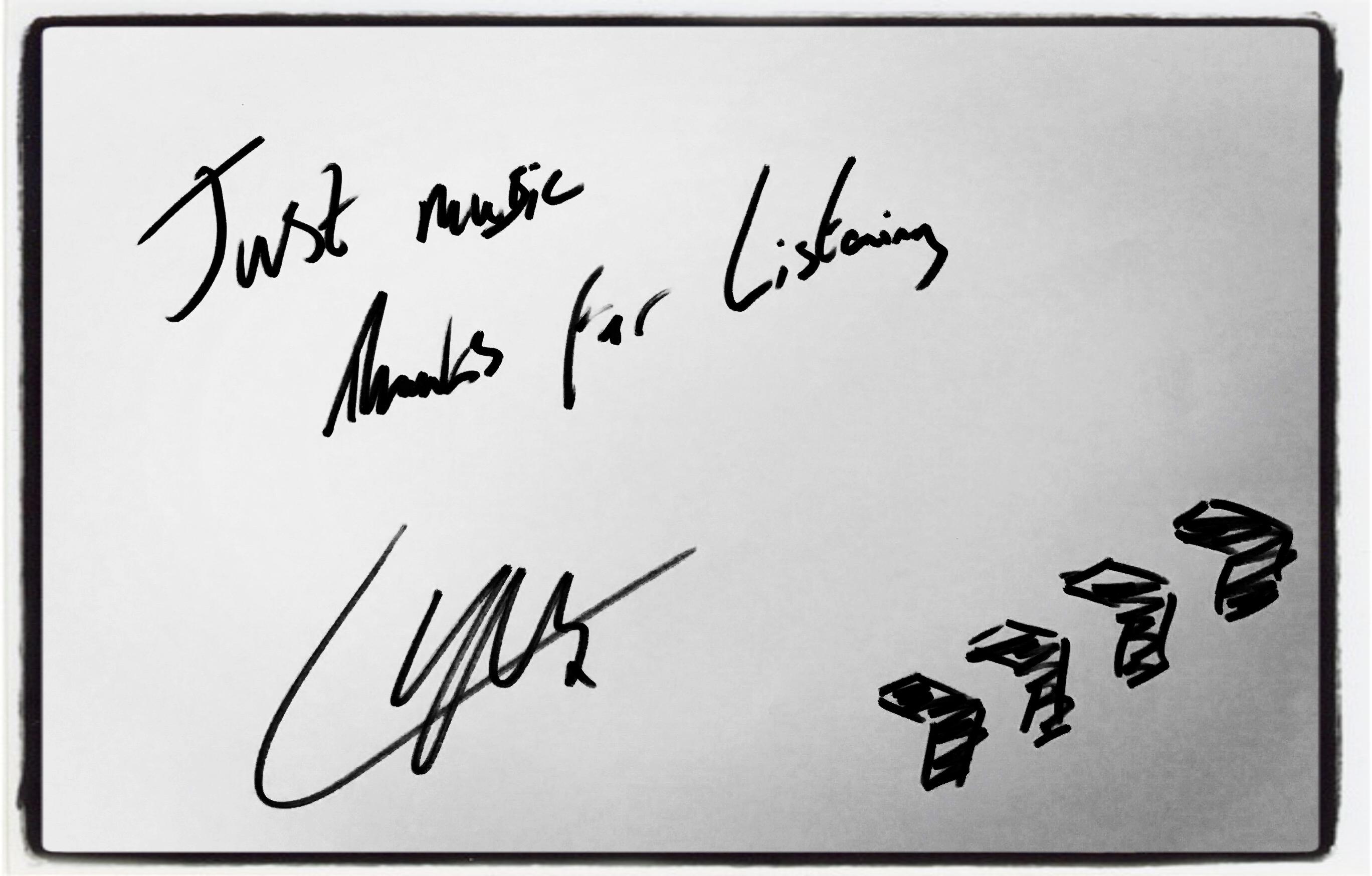 Liam Payne JustMusic.fr Dédicace