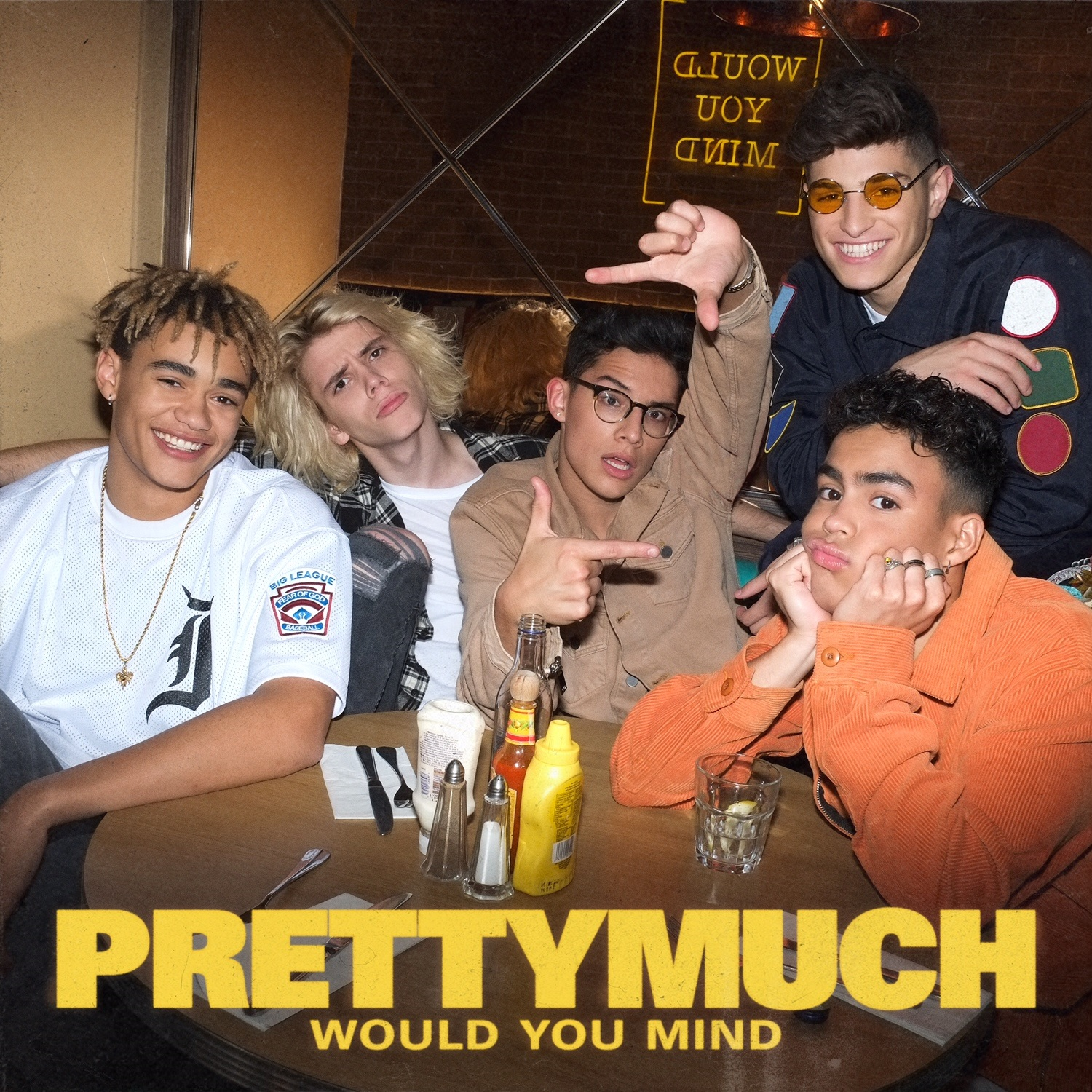 PRETTYMUCH - Would You Mind (Cover Single BD) JustMusic.fr