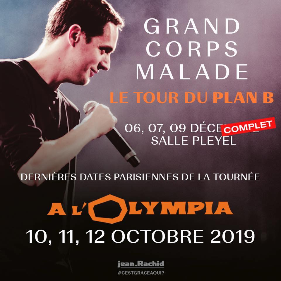 Grand Corps Malade A La Salle Pleyel Nous Y Etions Just Music
